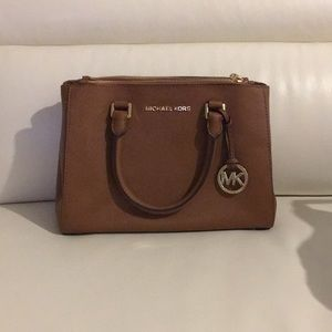 Micheal Kors Small Satchel Leather Bag
